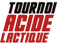 Tournoi Acide Lactique Logo Black