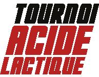 Tournoi Acide Lactique Logo Black