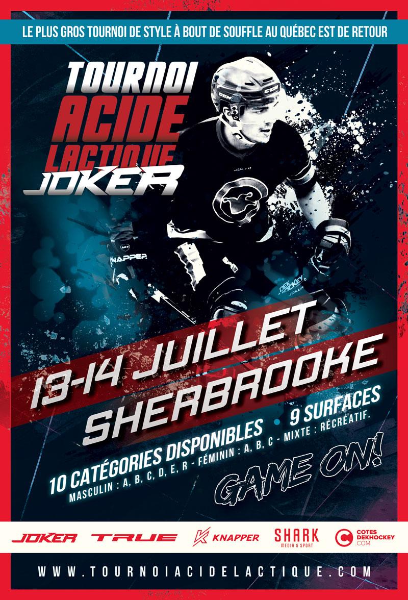 Affiche Sherbrooke Juillet 2019